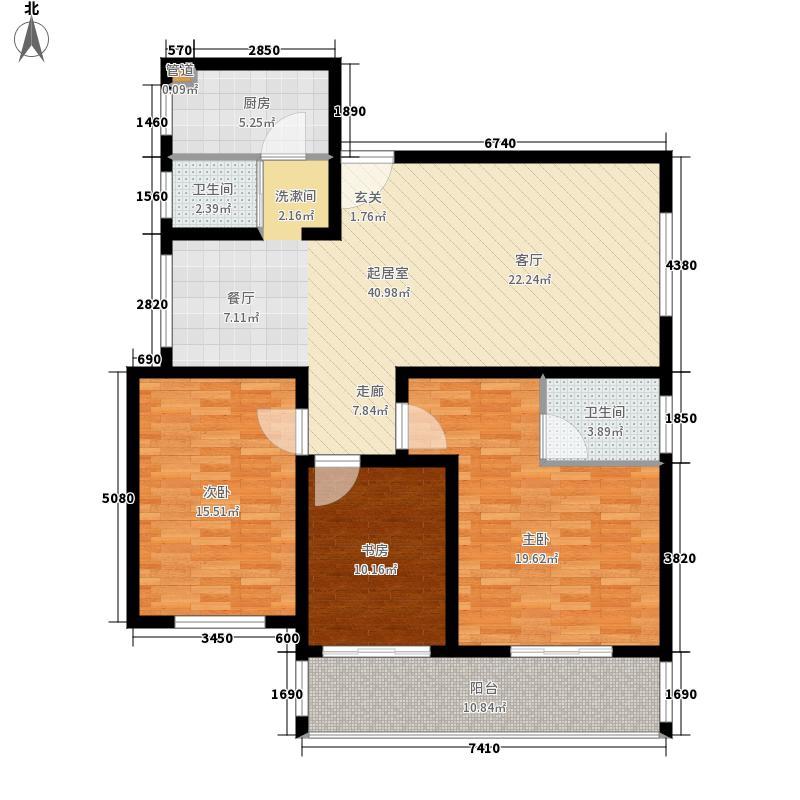 盛世康城123.00㎡A3、A4、C2-C3面积12300m户型