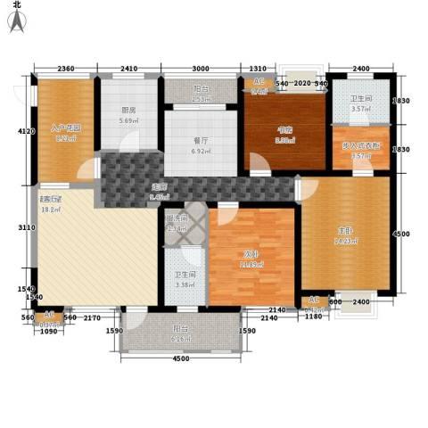 城市星钻3室0厅2卫1厨137.00㎡户型图