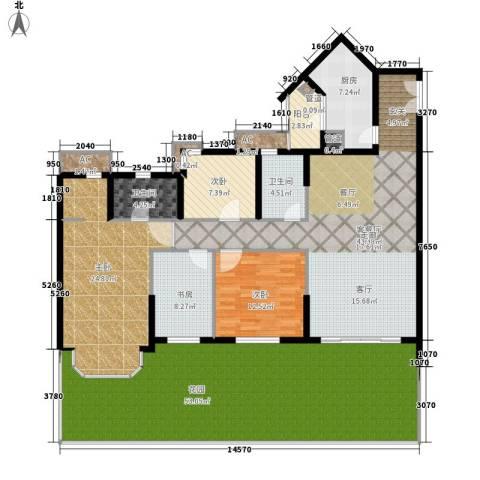 祈福新村活力花园4室1厅2卫1厨191.00㎡户型图