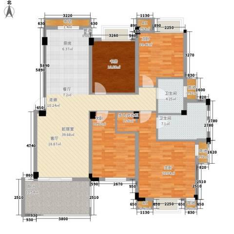 保亿・风景沁园4室0厅2卫0厨136.00㎡户型图