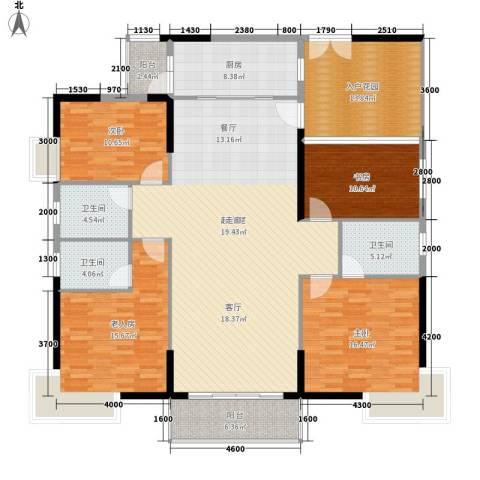 狮子洋1号4室0厅3卫1厨179.00㎡户型图