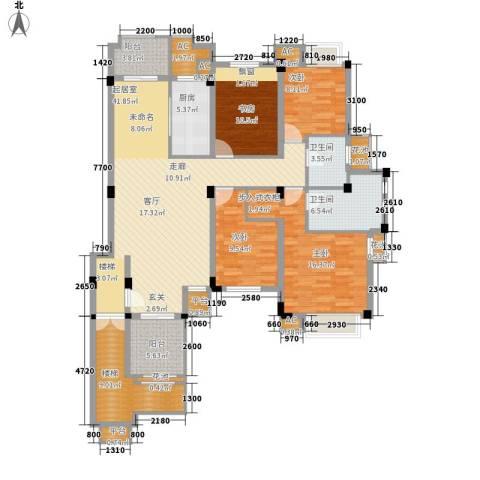保亿・风景沁园4室0厅2卫1厨146.00㎡户型图