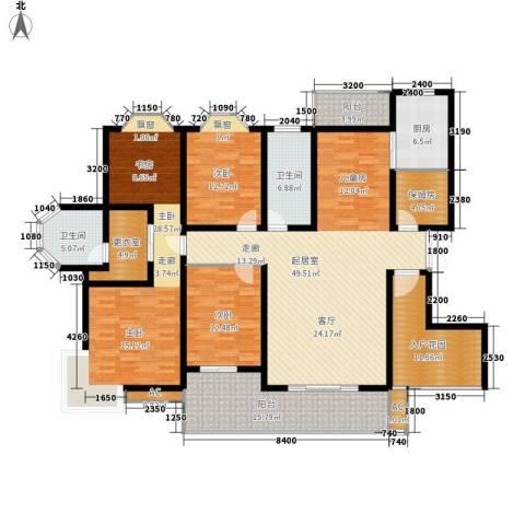 天城湖光山色3室0厅2卫1厨184.00㎡户型图