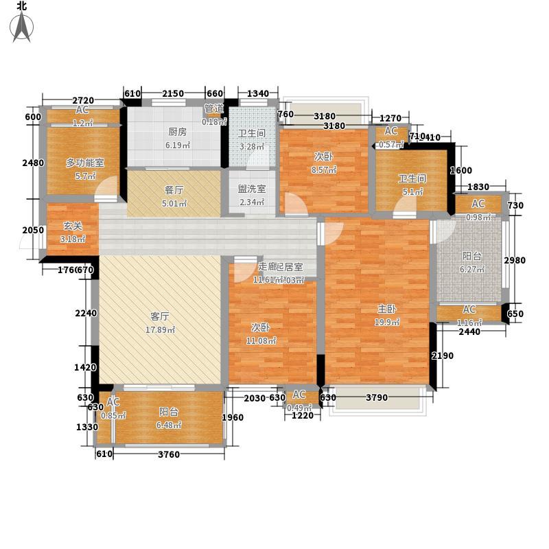 融侨世家135.00㎡一期03、05、07面积13500m户型