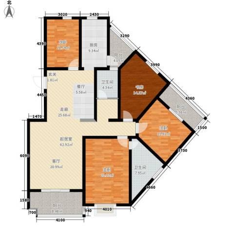 江尚天地4室0厅2卫0厨219.00㎡户型图