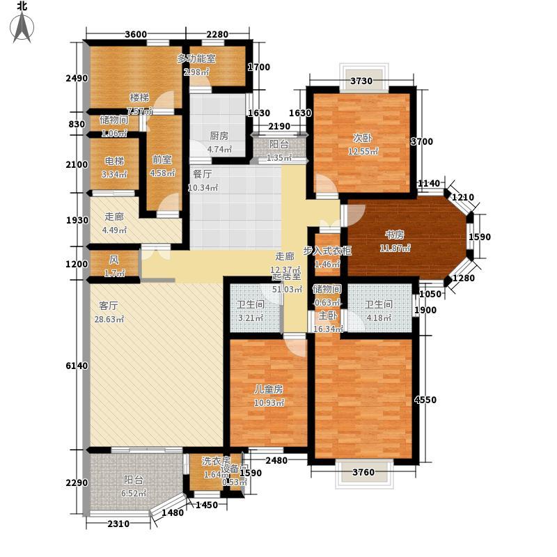 金正缔景城178.98㎡十一号楼东单面积17898m户型