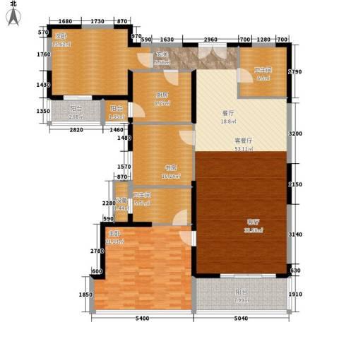 新兴IN之家3室1厅2卫1厨148.00㎡户型图