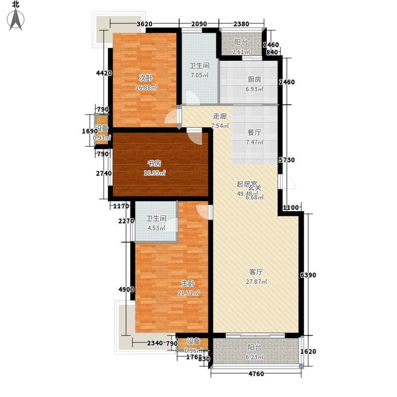 中建文化城151.00㎡8#号楼C3面积15100m户型