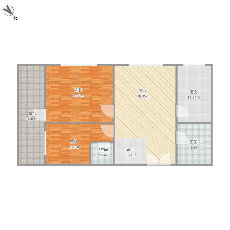 世纪公寓123平