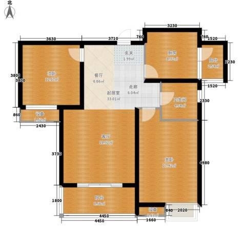 中建文化城2室0厅1卫1厨100.00㎡户型图