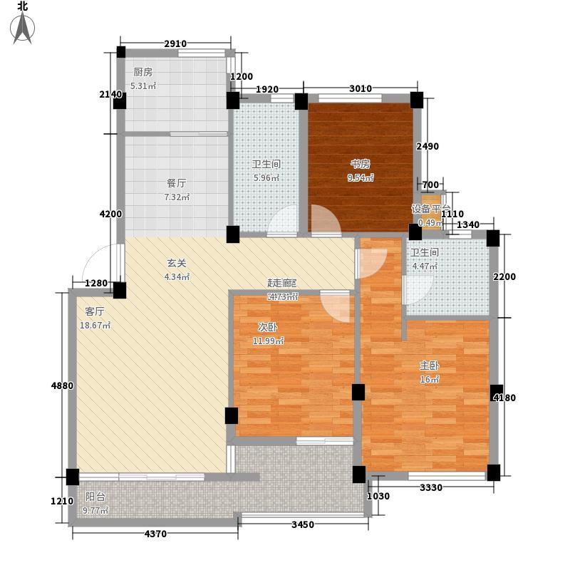 尊园109.10㎡普通住宅3面积10910m户型