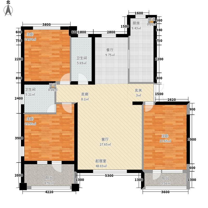 四季御景151.98㎡四季御景户型图户型3室2厅2卫