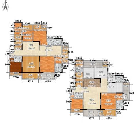 建业森林半岛5室1厅7卫1厨467.00㎡户型图