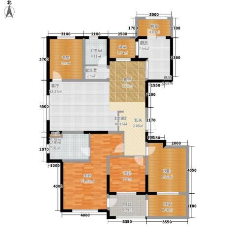 朗诗绿色街区4室0厅2卫1厨174.00㎡户型图