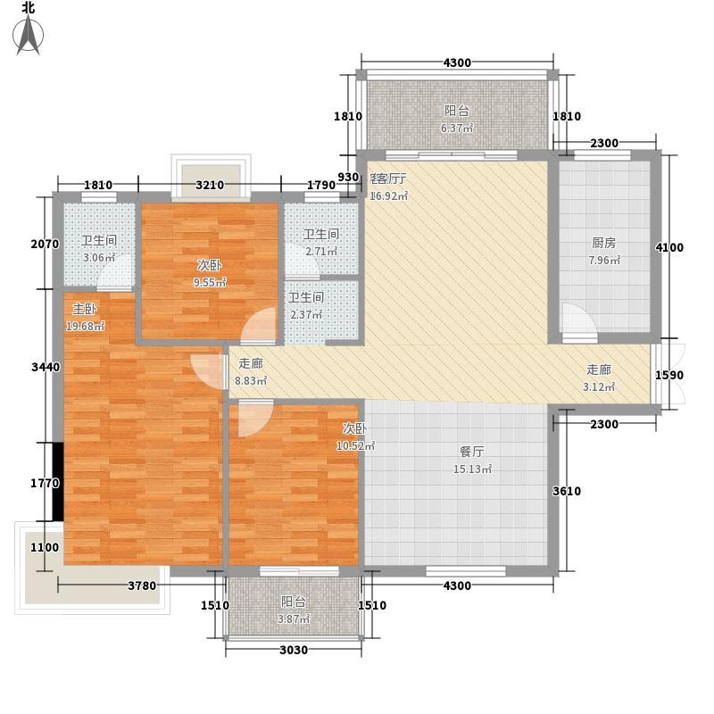 汇金中央广场139.11㎡汇金・中央广场A_line户型