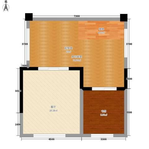 成都A区1室1厅0卫0厨190.00㎡户型图