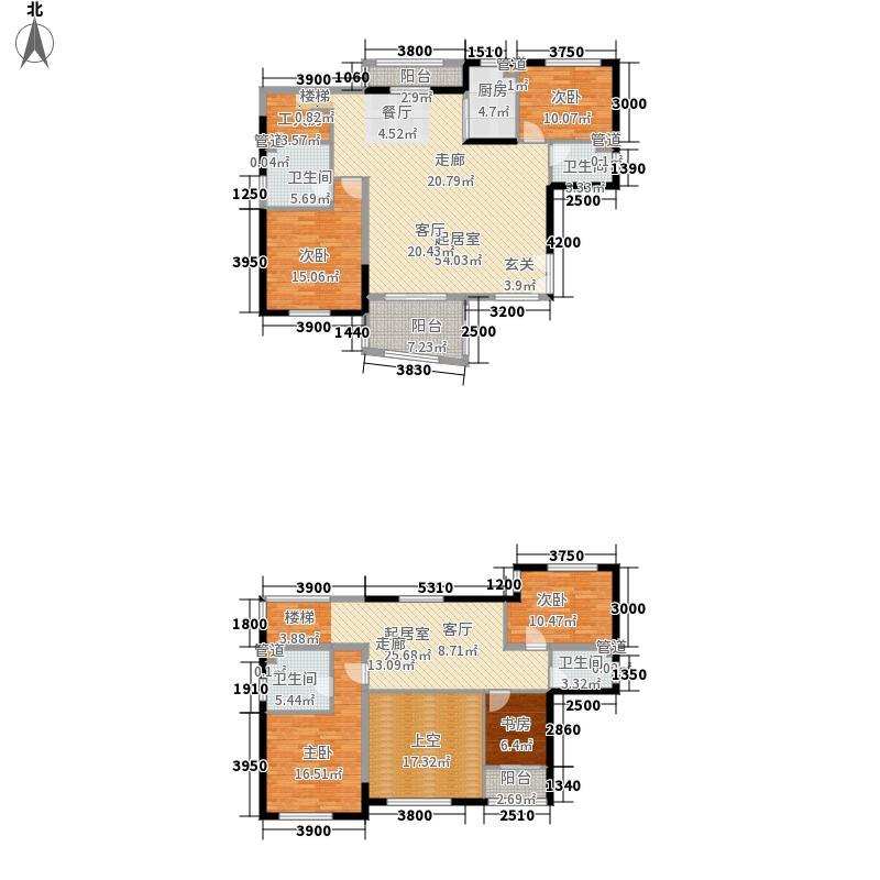 华融琴海湾226.00㎡10/12/13/16栋复式C2-Y2户型