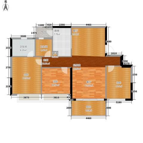 佳大银湾3室0厅2卫1厨129.00㎡户型图