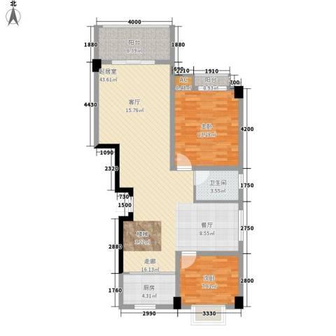 长房西城湾2室0厅1卫1厨182.00㎡户型图