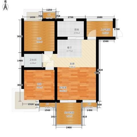 和坤和家园2室0厅1卫1厨59.00㎡户型图