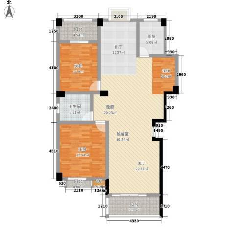长房西城湾2室0厅1卫1厨240.00㎡户型图