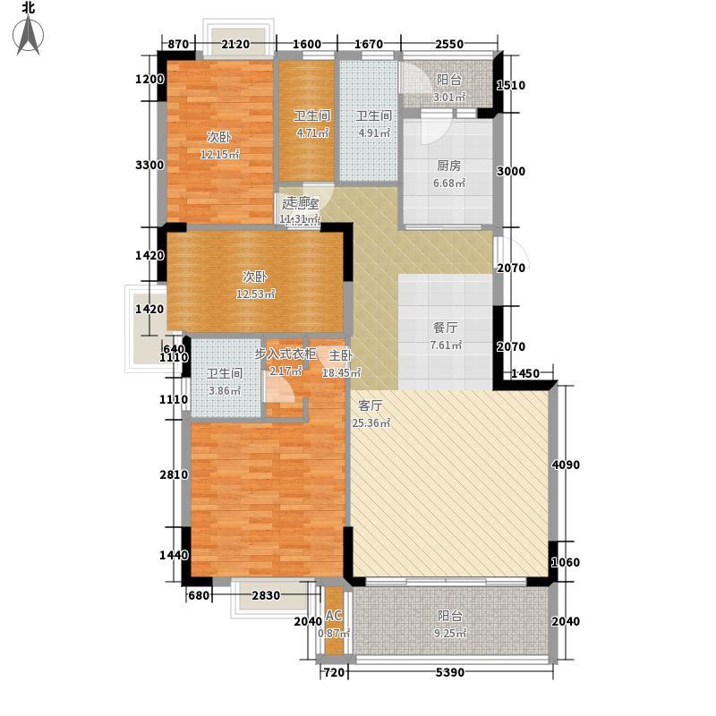 保利林海山庄137.55㎡阅林苑9栋1面积13755m户型