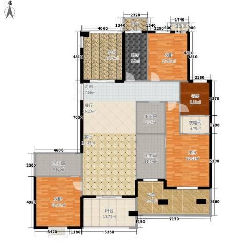 旭辉十九城邦4室0厅3卫1厨193.00㎡户型图