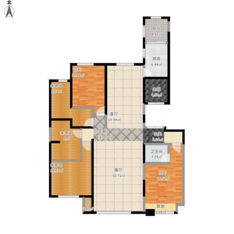 中海外滩2室1厅1卫1厨177.00㎡户型图