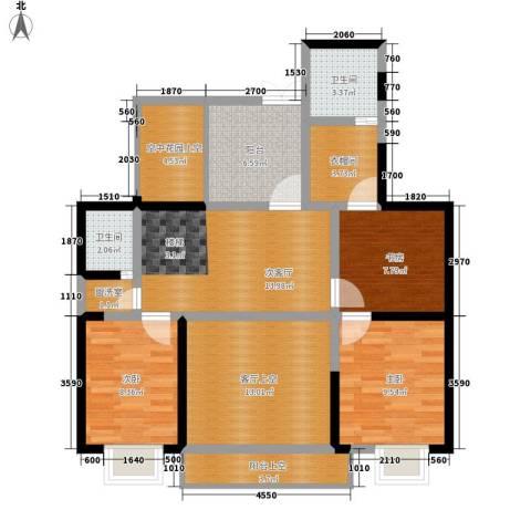 长沙嘉华城3室0厅2卫0厨235.00㎡户型图