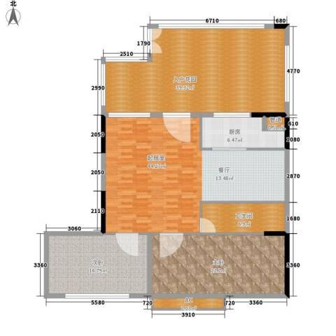 雪梨澳乡2室0厅1卫1厨138.98㎡户型图