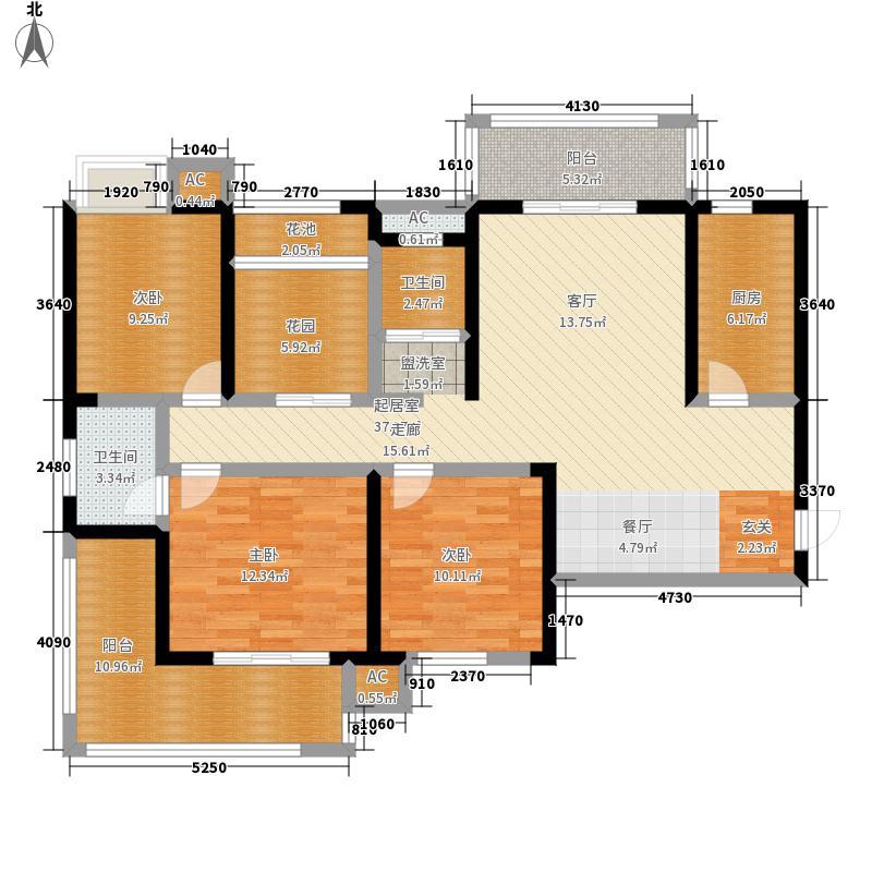 尊邸华庭4-A单层双层户型