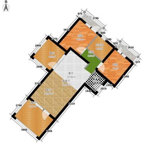 山海国际2室1厅1卫0厨100.00㎡户型图