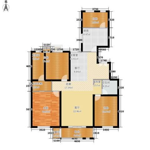 百合小筑4室0厅2卫1厨159.00㎡户型图
