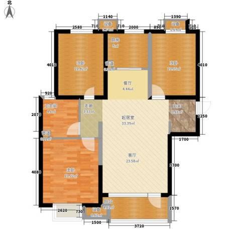 丰润富力城3室0厅1卫1厨120.00㎡户型图