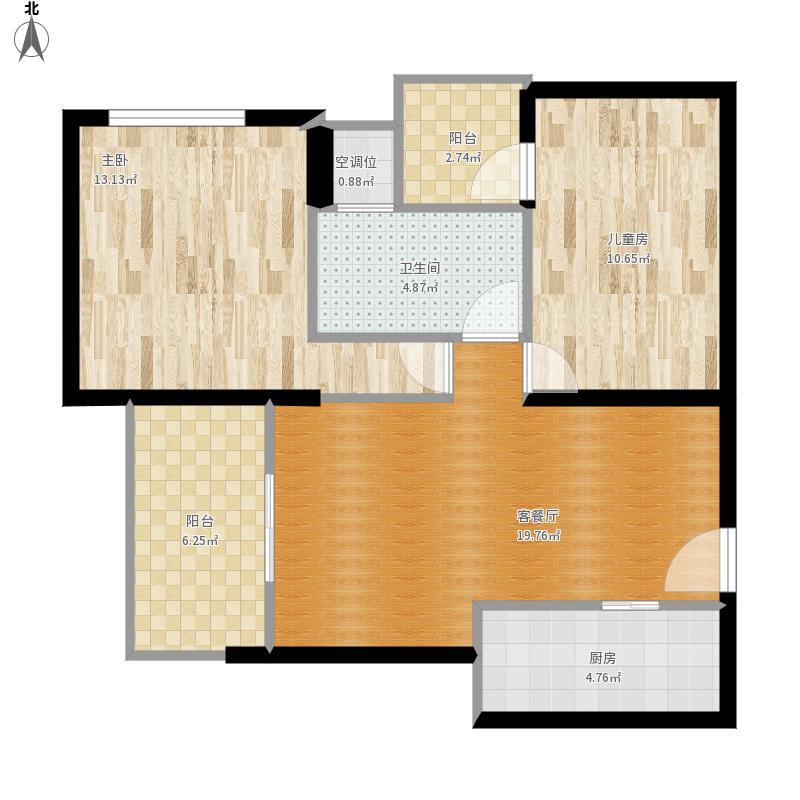 金岛.御璟世家81.11平方三室两厅一卫
