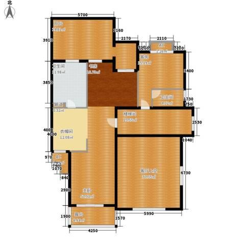 洛阳碧桂园1室0厅2卫0厨246.00㎡户型图