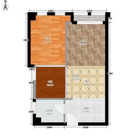 颐高数码港1室0厅1卫0厨73.00㎡户型图