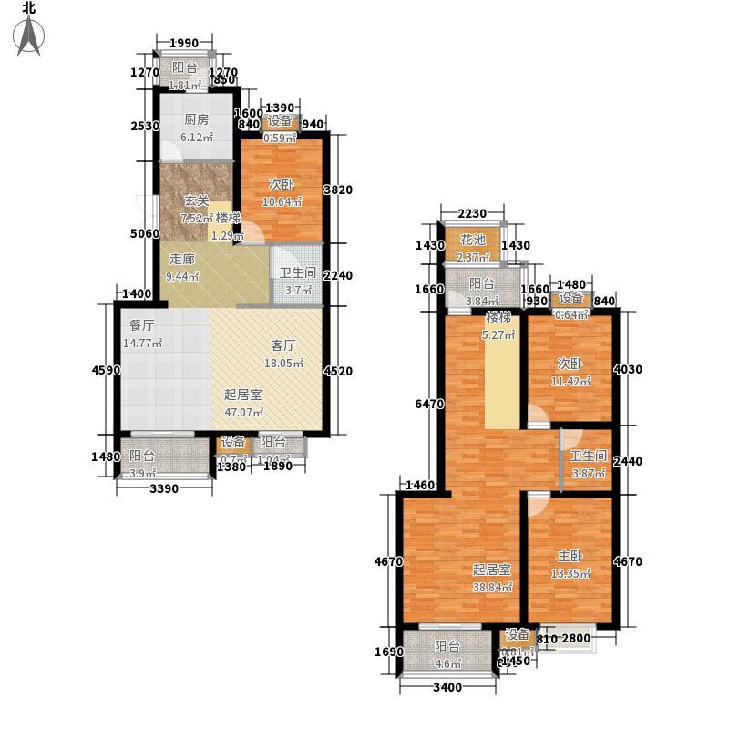 东兴公寓175.66㎡A面积17566m户型