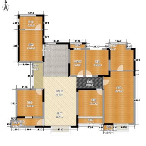 博威・江南明珠苑3室0厅2卫1厨216.00㎡户型图