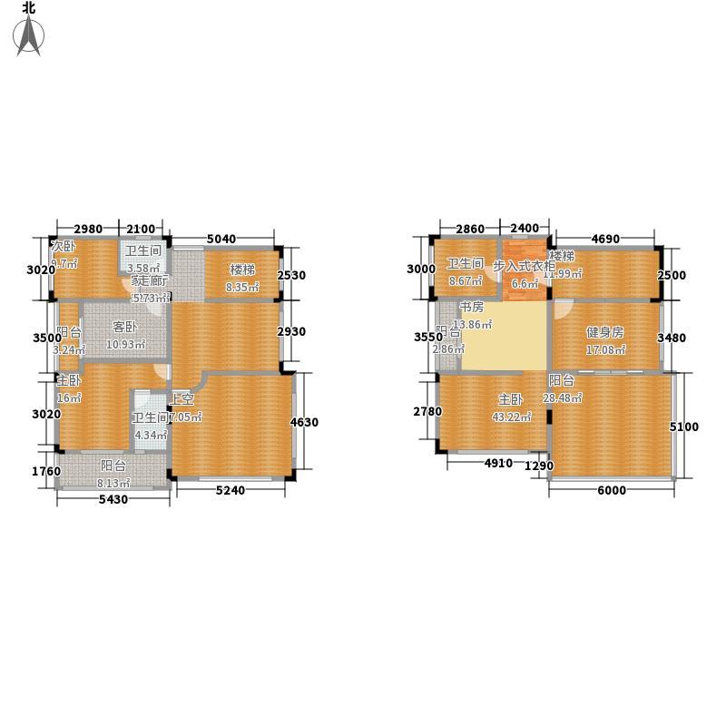 水岸豪庭447.69㎡独栋别墅9-15幢面积44769m户型