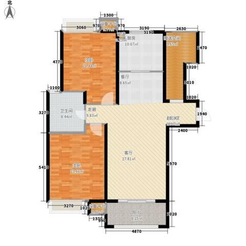米兰浅山郡2室0厅1卫1厨150.00㎡户型图