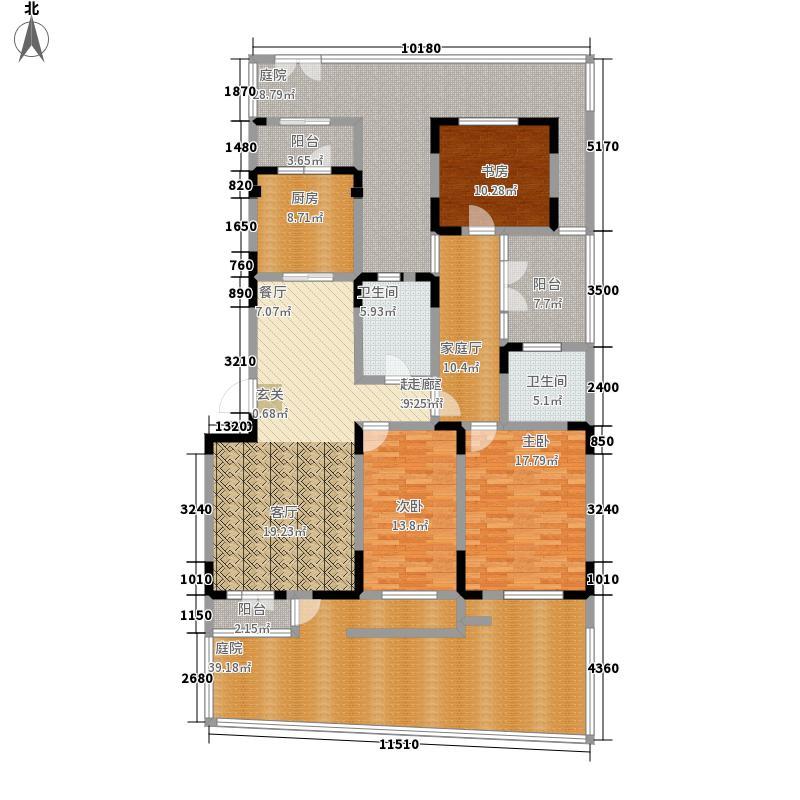 俊城橡树原16号楼l13户型