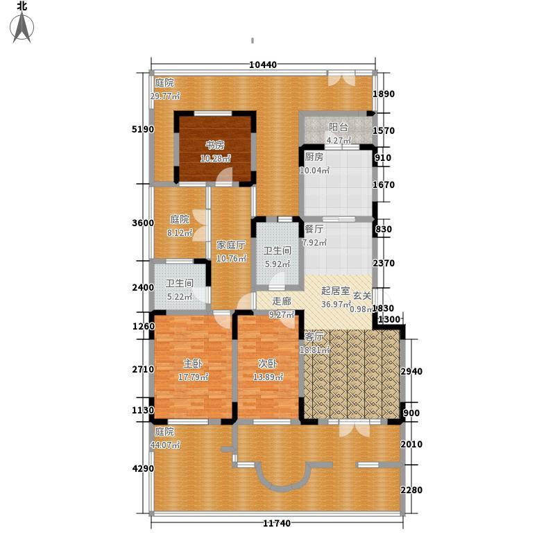 俊城橡树原16号楼l13-1户户型