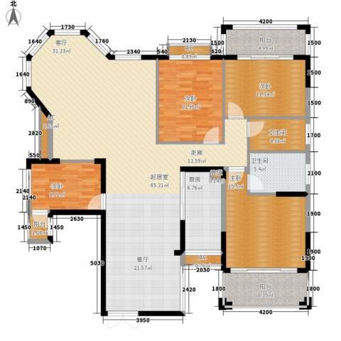 沁园春御院4室0厅2卫1厨179.00㎡户型图