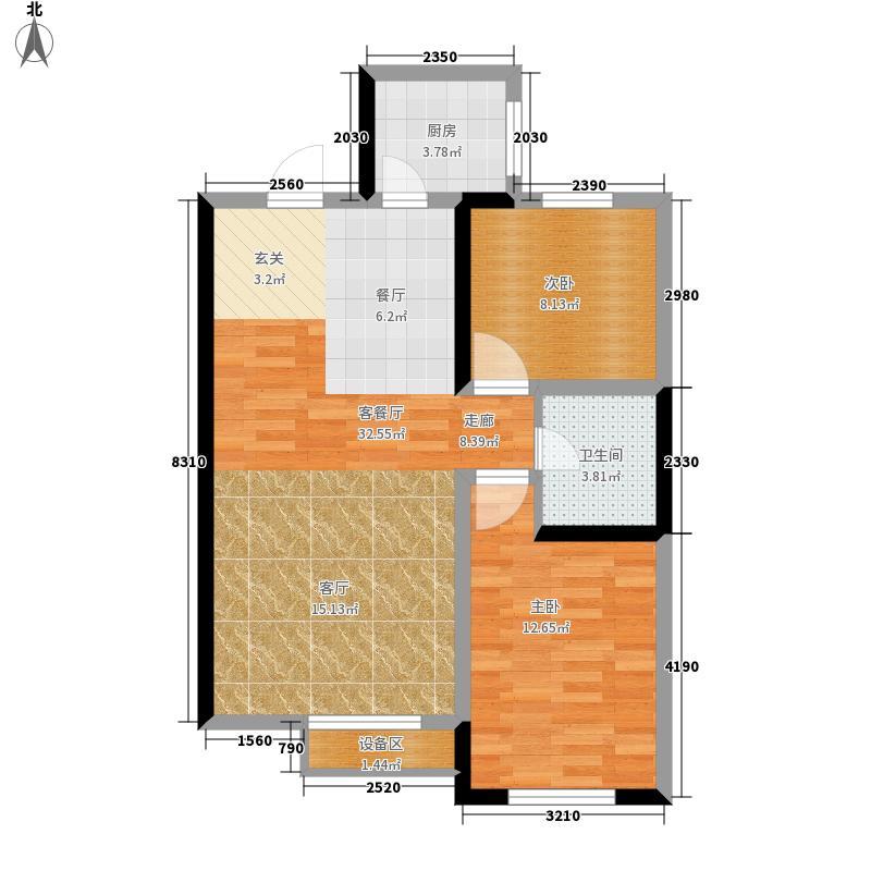 南小巷家属院92.00㎡面积9200m户型