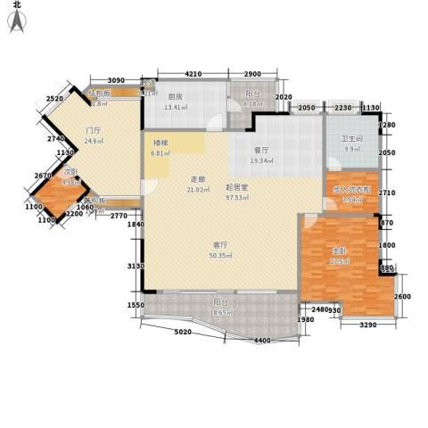 骏逸天下2室0厅1卫1厨233.00㎡户型图