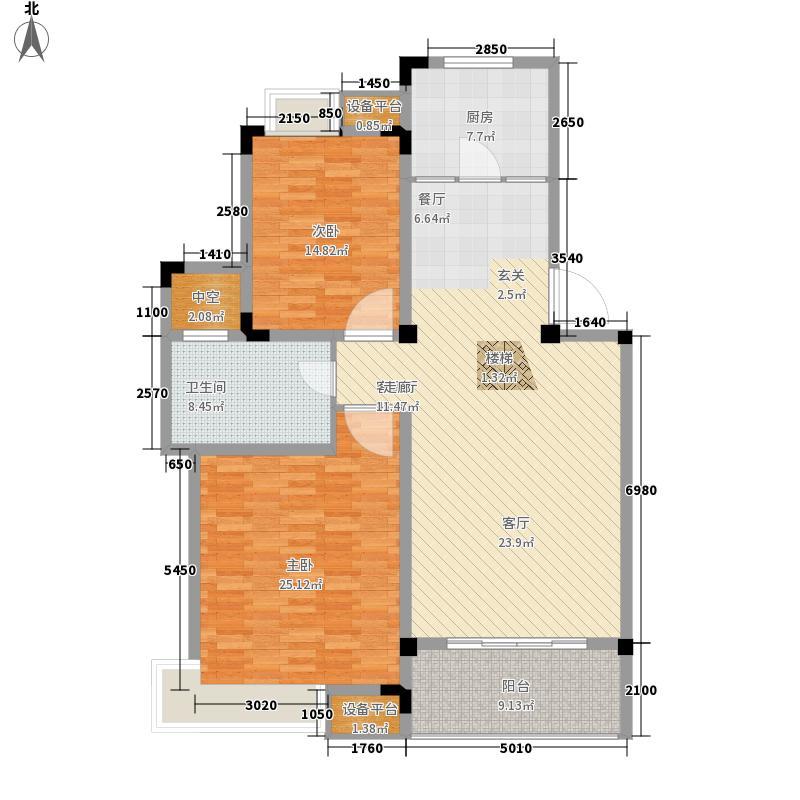中新汀兰129.00㎡12、10、13、11面积12900m户型