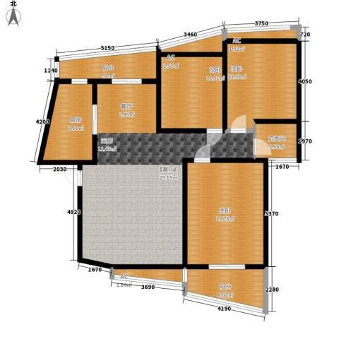 汉水熙园3室0厅1卫1厨169.00㎡户型图