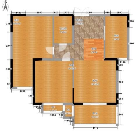 汉口春天2室0厅1卫1厨139.00㎡户型图