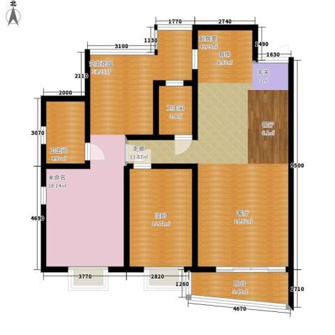 汉口春天2室0厅2卫0厨147.00㎡户型图